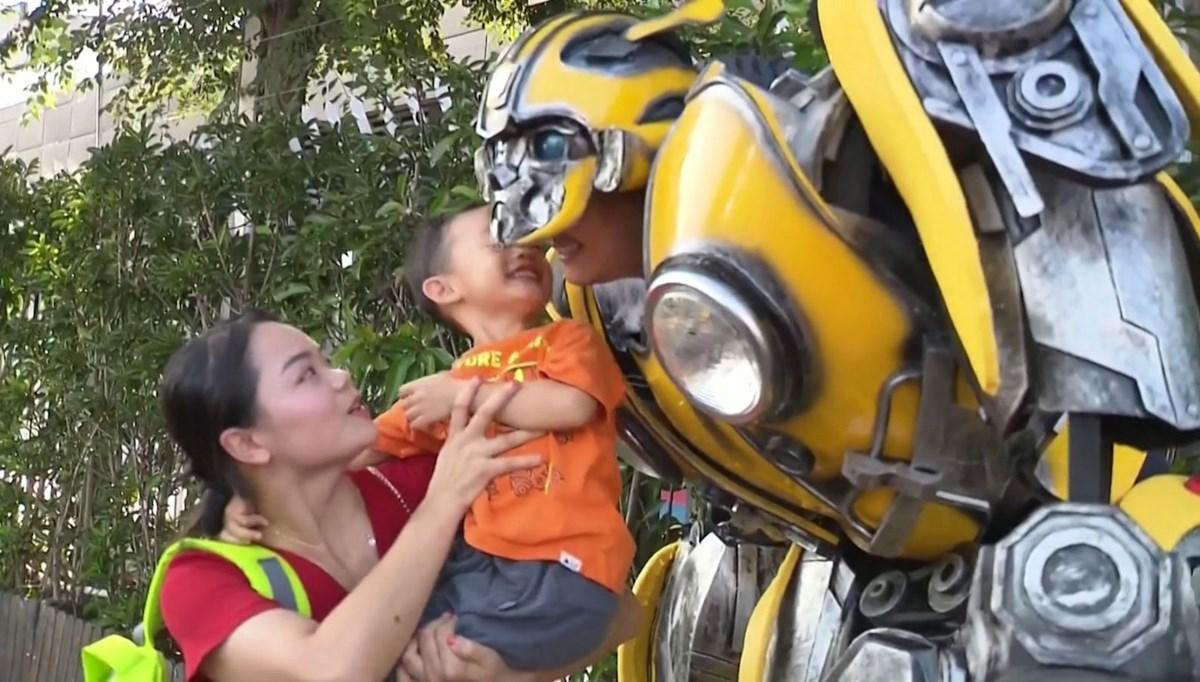 'Transformers' baba görev başında