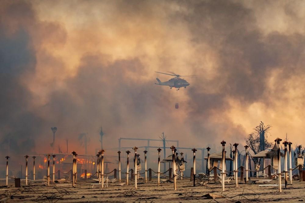 İtalya'da yangın: Sicilya Adası alevlere teslim oldu - 2