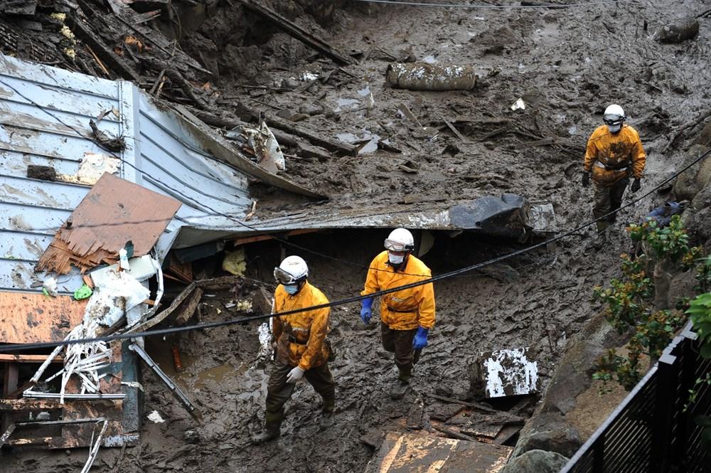 Japonya'daki sel felaketi: Ölü sayısı 7'ye yükseldi - 17
