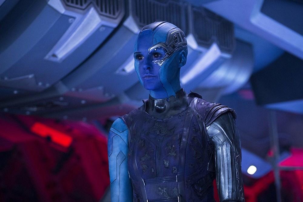 Sinemada canlandırdığı karakterin makyajının arkasında saklı kalan yıldızlar - 13