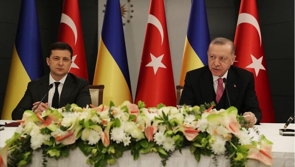 Cumhurbaşkanı Erdoğan: Karadeniz barış denizi olarak kalmalı (Erdoğan- Zelenskiy görüşmesi) | NTV