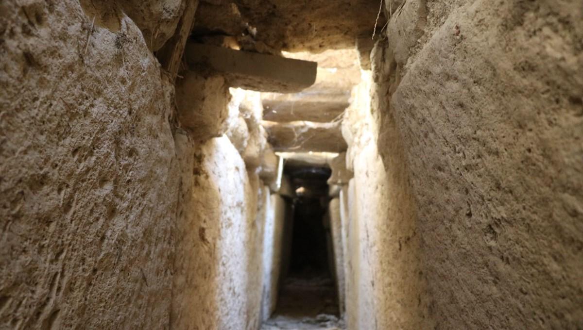 Tripolis Antik Kenti'nde 2 bin yıllık kanalizasyon bulundu
