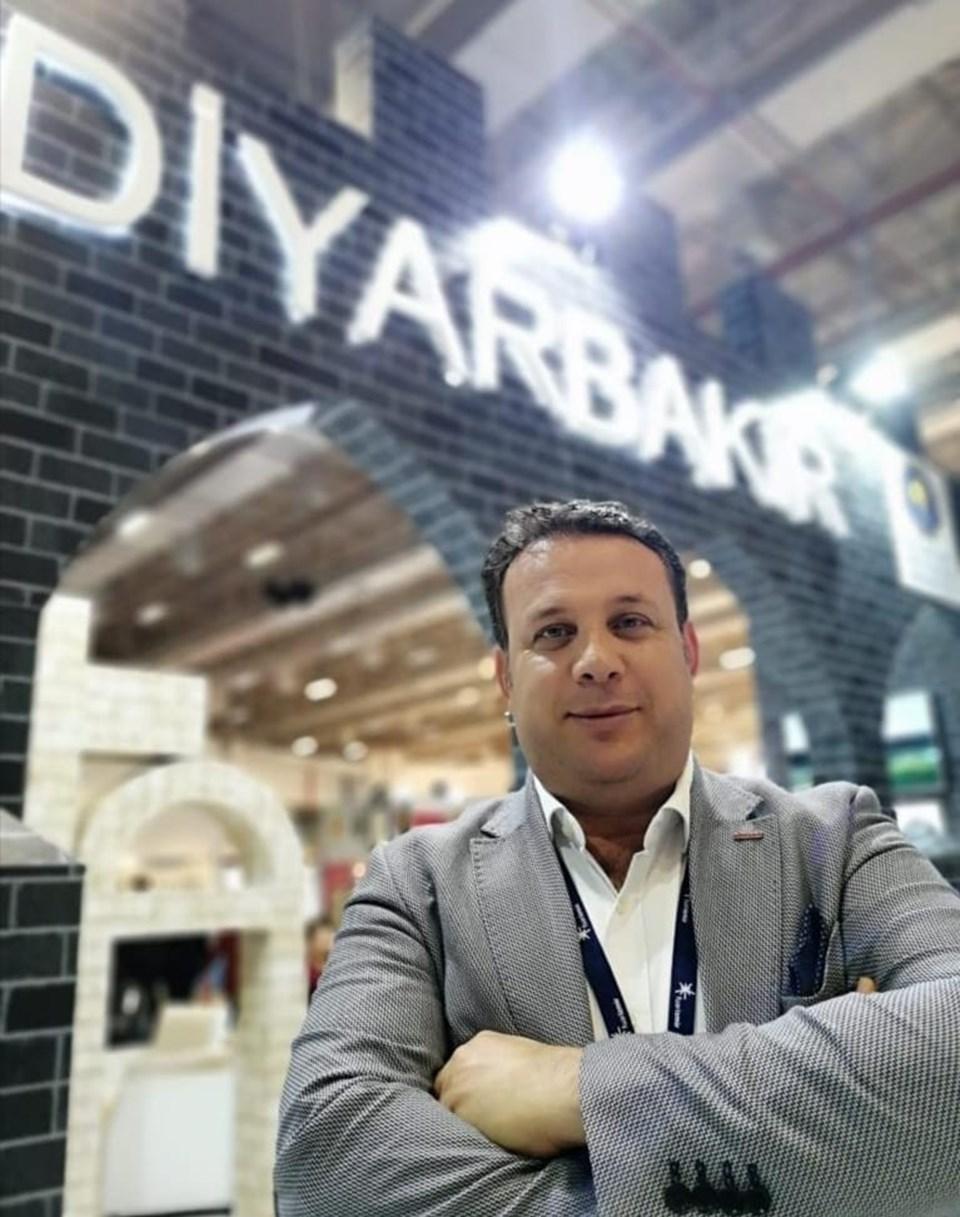 Türkiye Seyahat Acenteleri Birliği (TÜRSAB) Güneydoğu Bölge Temsil Kurulu Başkanı Mehmet Akyıl
