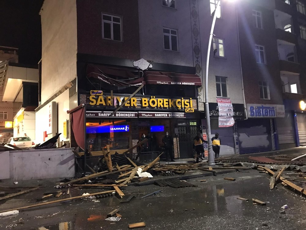 İstanbul'da fırtına etkili oluyor - 1