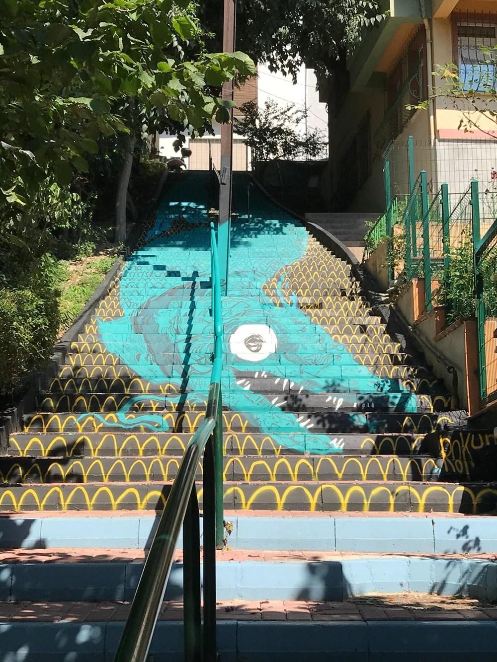 Merdivenler renkleniyor - 3