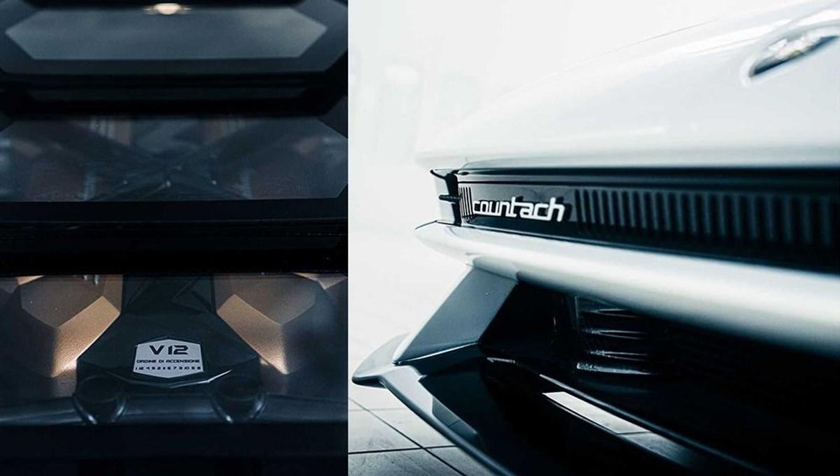 Efsane geri dönüyor: Lamborghini Countach