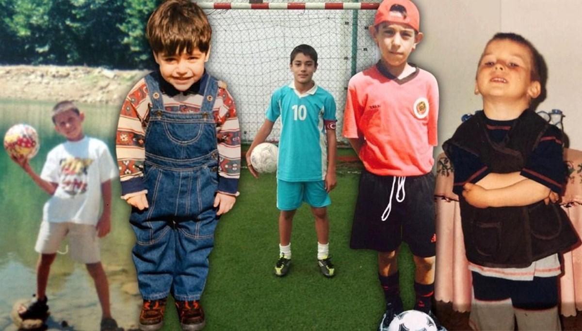 TFF'den milli futbolcuların çocukluk fotoğrafları