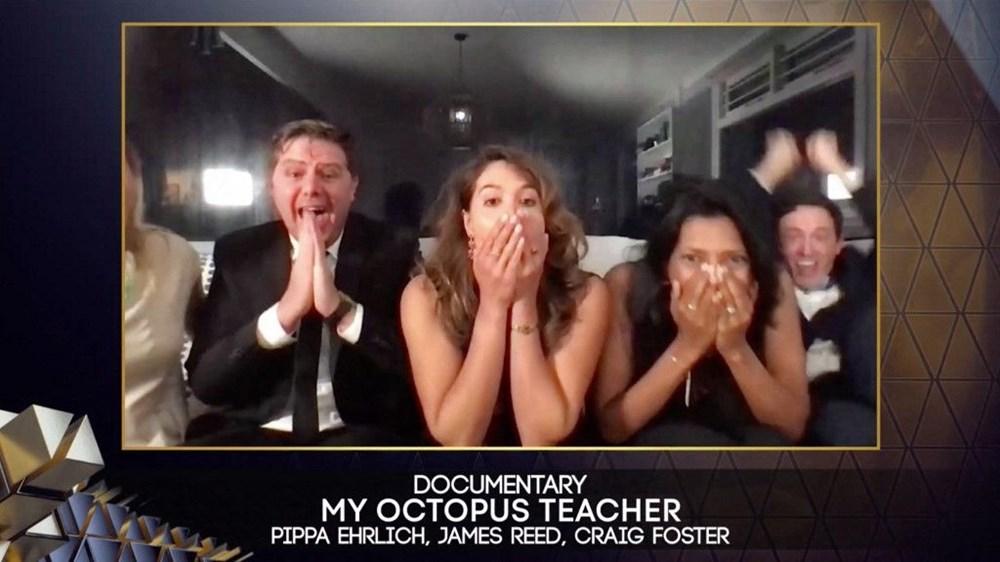 """Ən yaxşı sənədli film - """"My Octopus Teacher"""""""