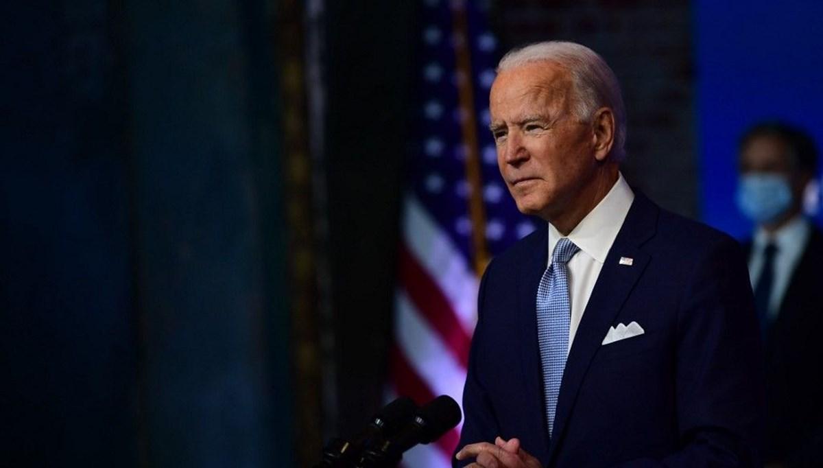 """Biden'dan ABD halkına """"hayat normale dönecek"""" sözü"""