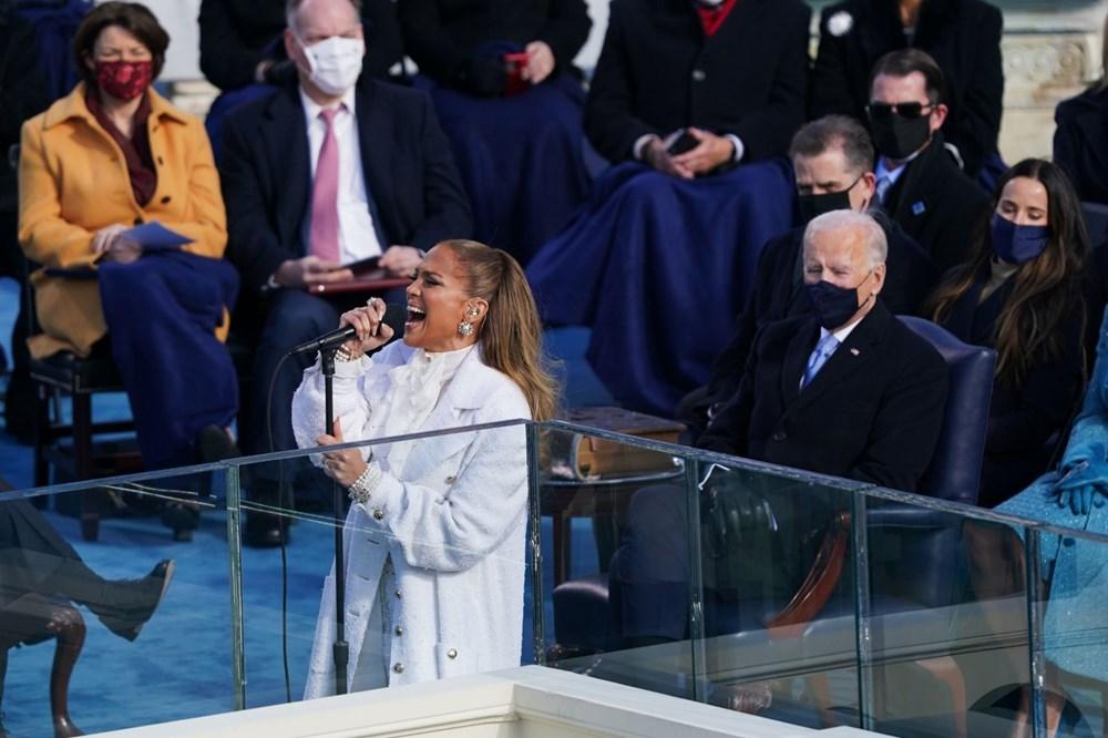 Yemin töreninde Jennifer Lopez'den İspanyolca mesaj - 4