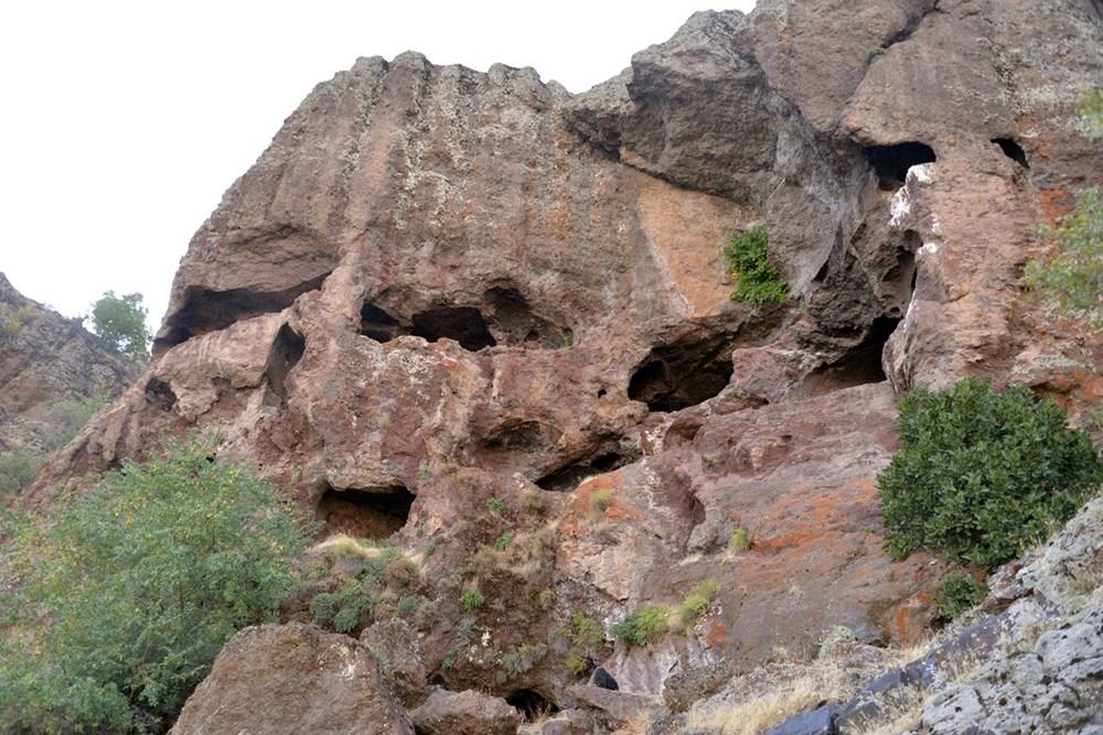 Hristiyanların gizli ibadet yaptıkları 1500 yıllık mağaralar ilgi çekiyor - 10