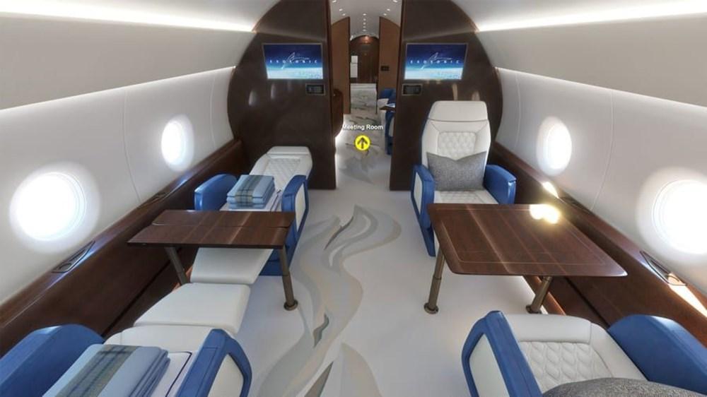 ABD Başkanları için hazırlanan süpersonik uçak 2030 yılında kullanıma hazır olacak - 2