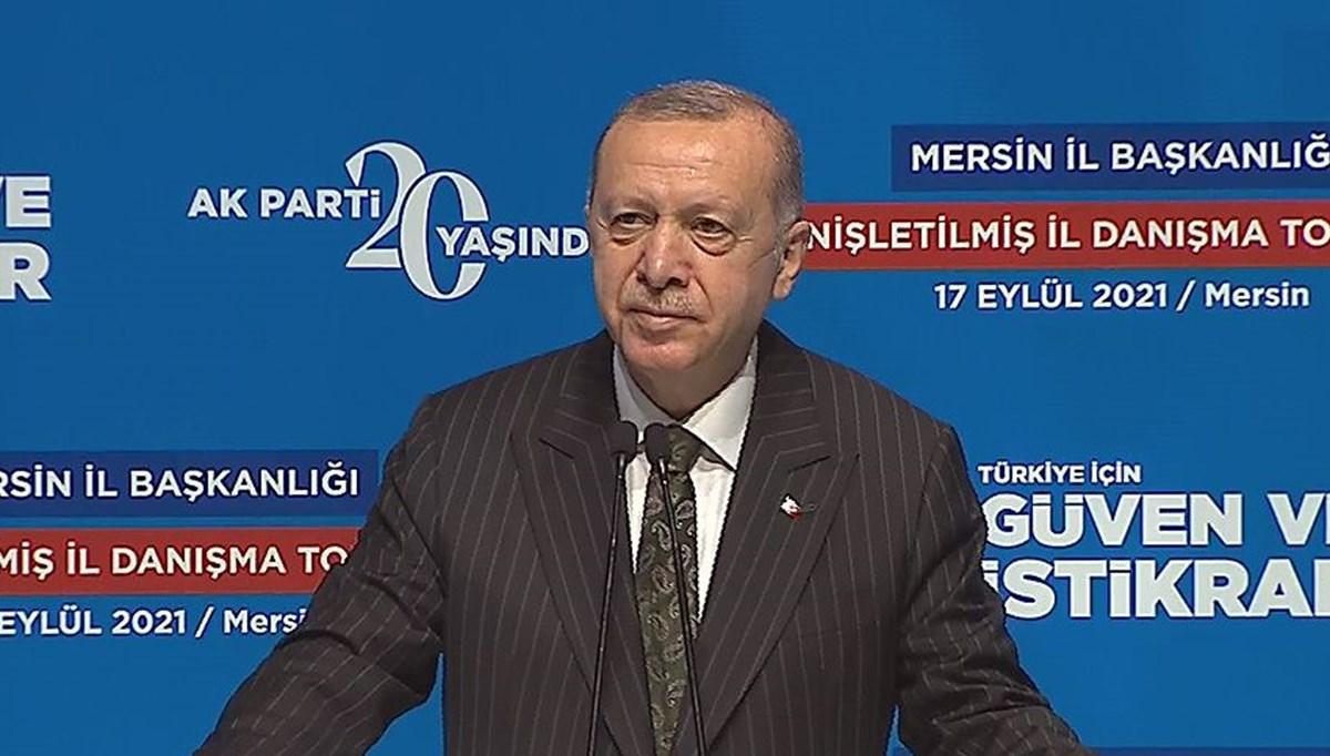 SON DAKİKA HABERİ... Cumhurbaşkanı Erdoğan: Dağıttıkları vaatlerin altında ezildiler