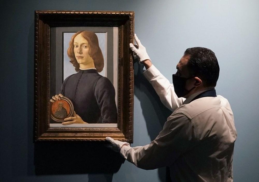 Botticelli'ye ait tablo 2021'in müzayede rekorunu kırdı: 92 milyon dolar - 2