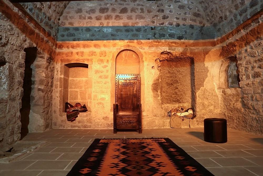 Trabzon'da restorasyonu tamamlanan Kızlar Manastırı ziyarete açıldı - 12