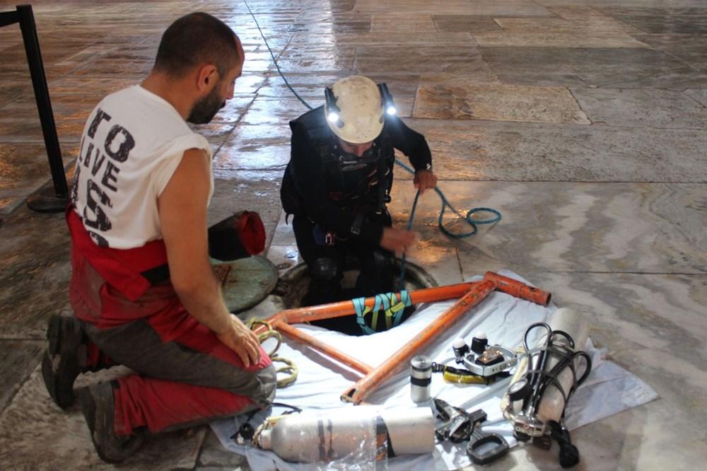 Ayasofya'nın yeraltı yapıları üç boyutlu olarak ilk defa görüntülendi - 4