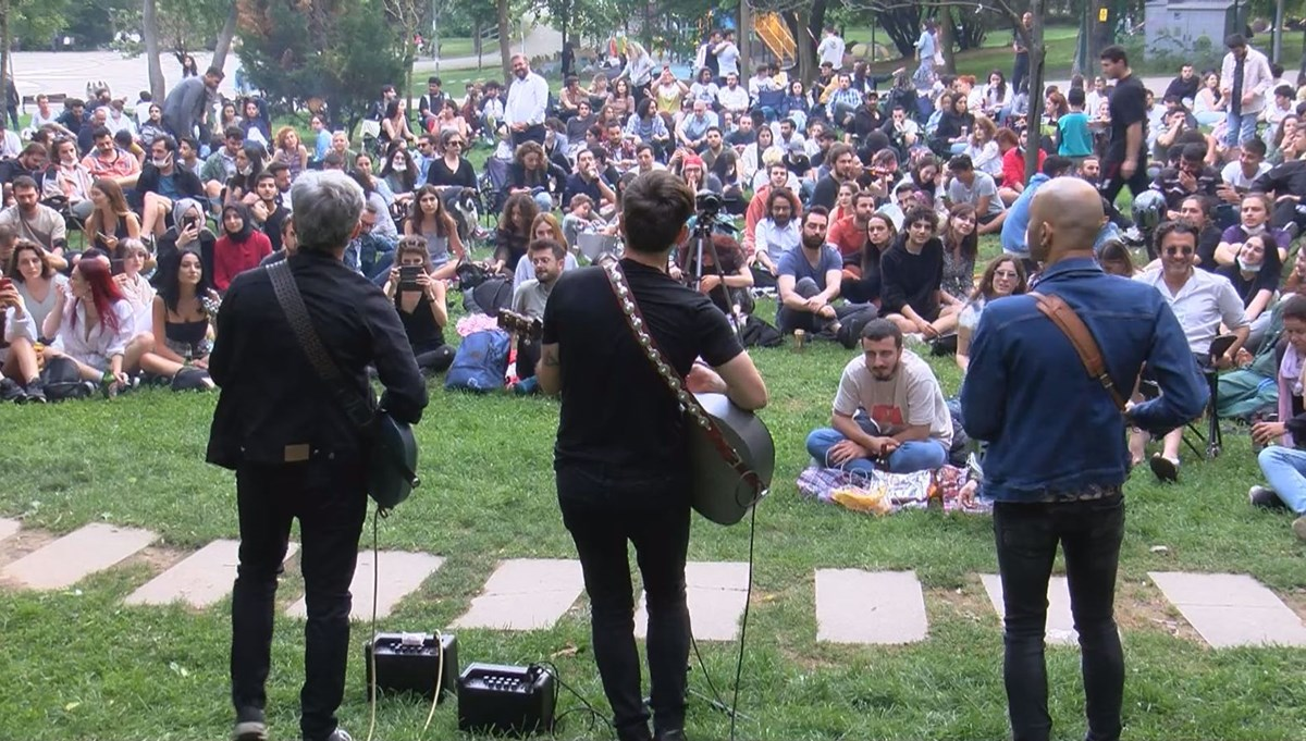 Redd grubundan Maçka Parkı'nda konser