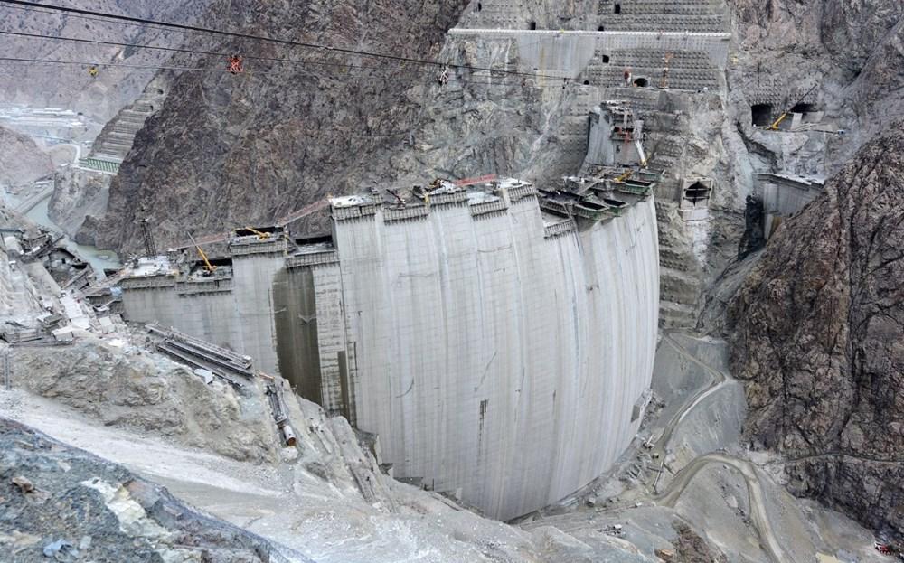 Yusufeli Barajı'nda dökülen 4 milyon metreküp betonla rekor kırıldı - 10