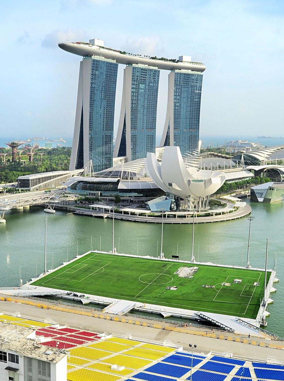 Dünyanın en ilginç futbol sahaları - 9