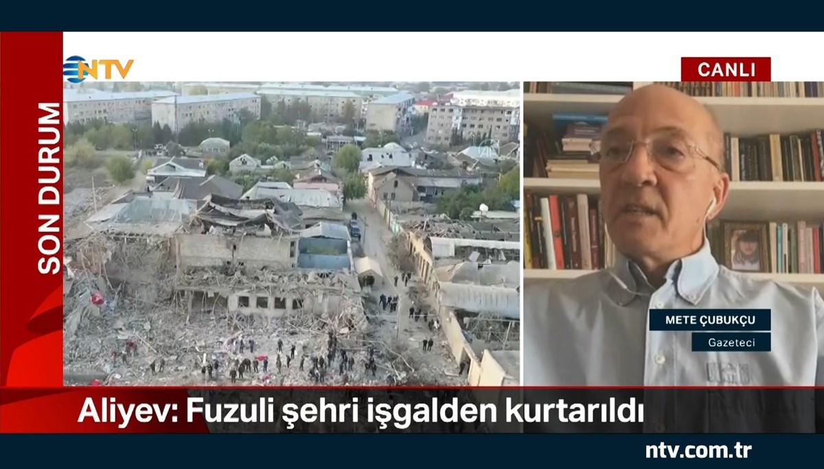 Ermenistan'ın saldırılarını ve sahadaki son durumu Pasaport programı yapımcısı, Gazeteci Mete Çubukçu değerlendirdi