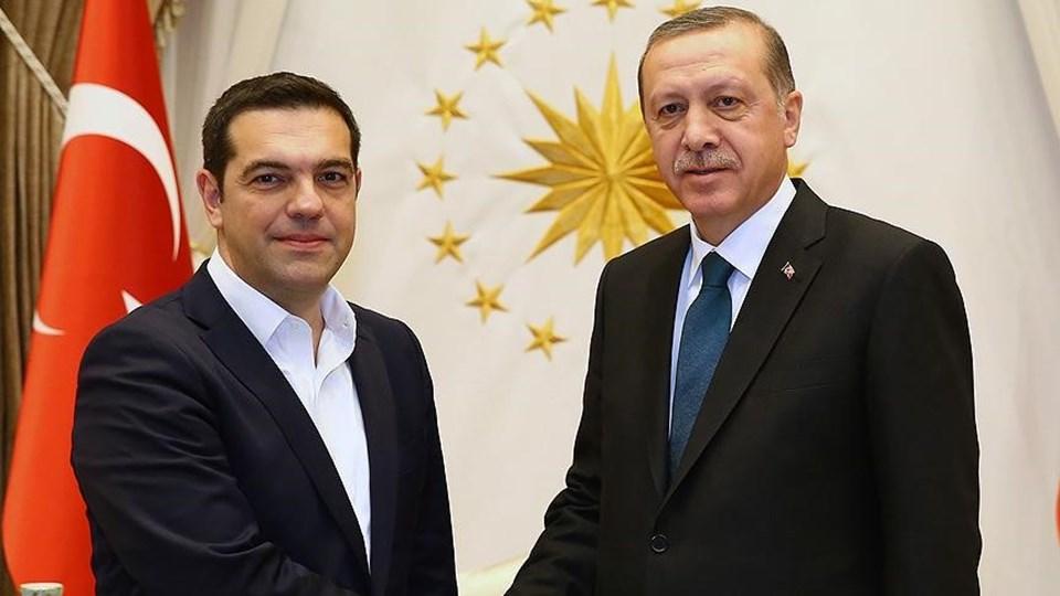 Yunanistan Başbakanı Çipras ve Cumhurbaşkanı Erdoğan