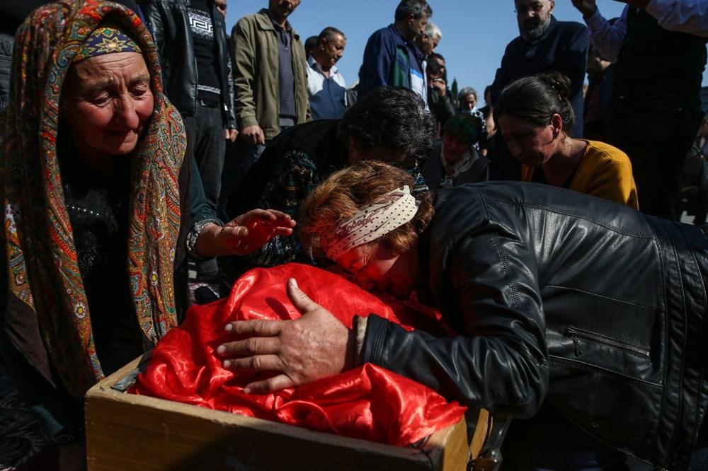 Hain saldırının küçük kurbanları: Cenazede gözyaşları sel oldu - 11