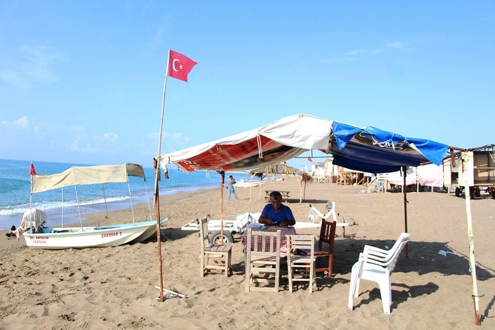 Lüks tatilin bedavaya sunulduğu 'Çardak Beach' çöplük oldu - 12