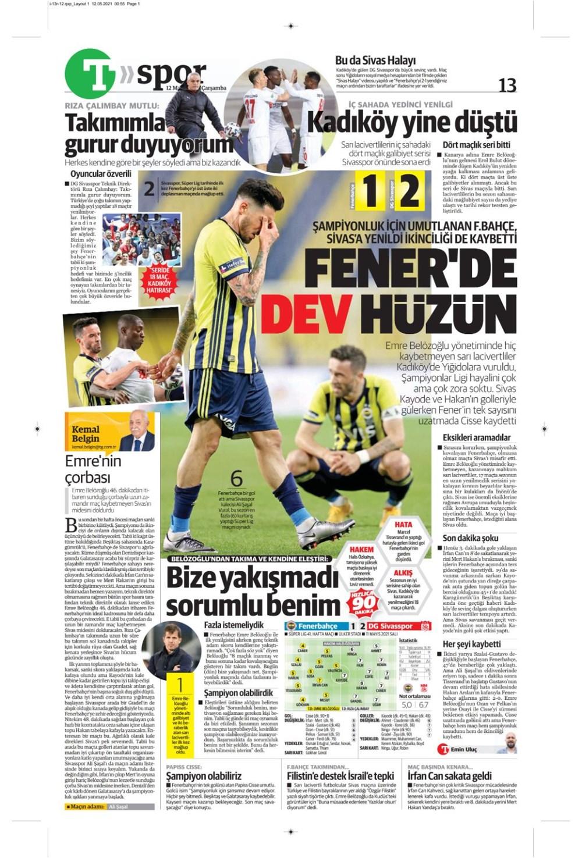 Günün spor manşetleri (12 Mayıs 2021) - 18
