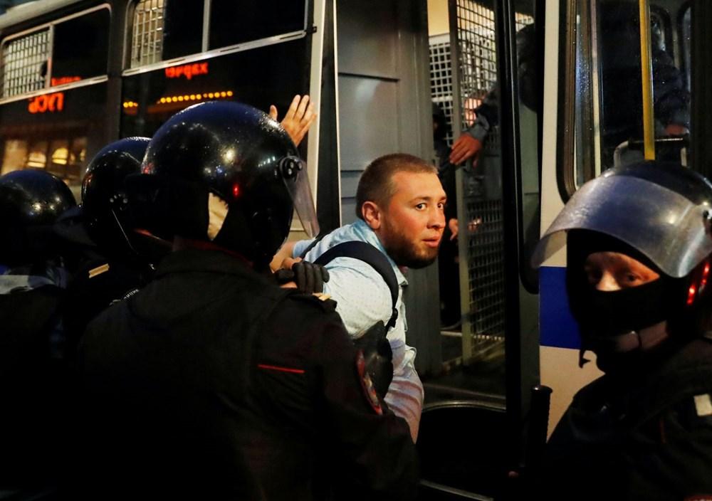 Rusya'da Putin karşıtı protesto: 130 gözaltı - 4