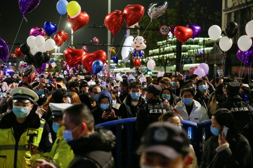 Wuhan'da yeni yıl kutlamaları - 11