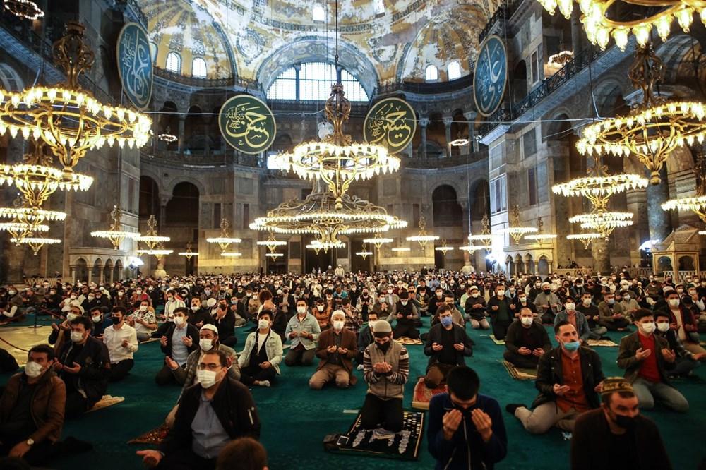 Ayasofya'da 87 yıl sonra ilk Ramazan Bayramı namazı kılındı - 6