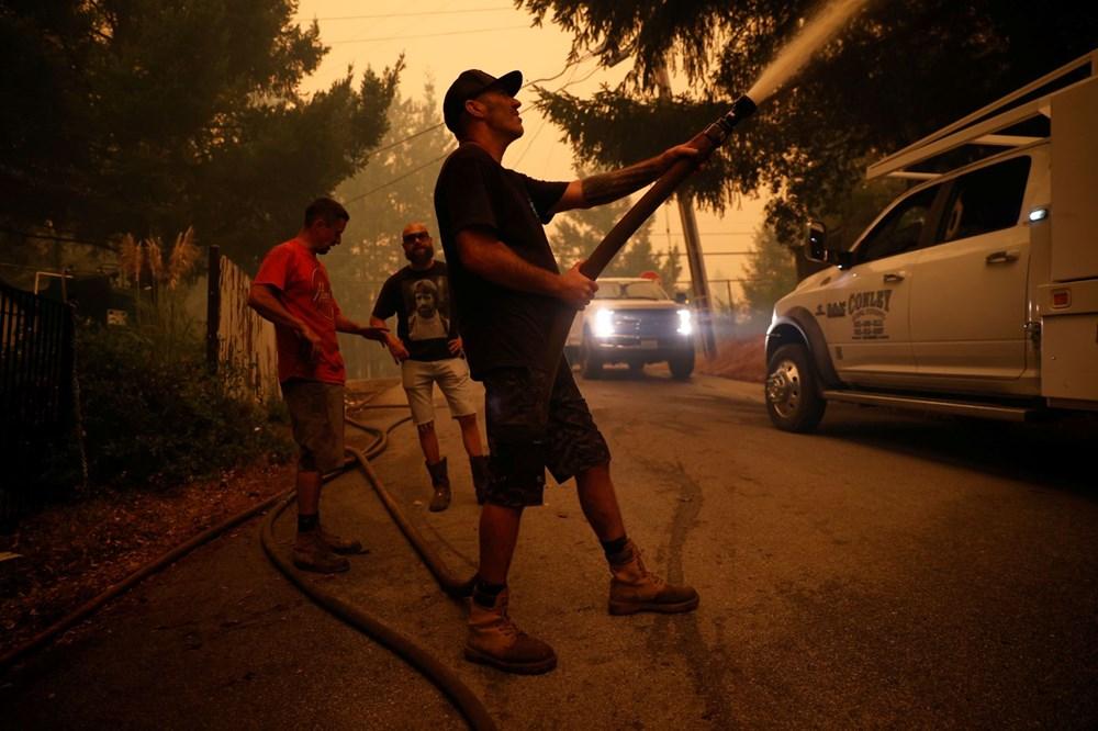 California'da 8 bin kilometrekare alan yandı, rekor kırıldı - 4