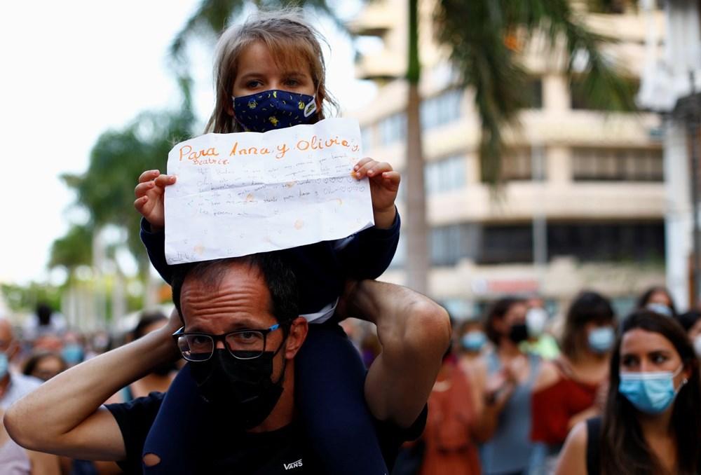 İspanya'yı sokağa döken cinayet: Bir ve altı yaşlarındaki iki kızını öldürüp okyanusa attı - 7