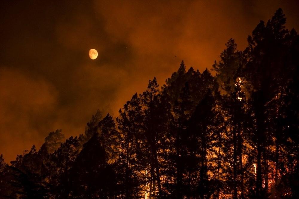 California'da yangınlar bitmiyor - 9
