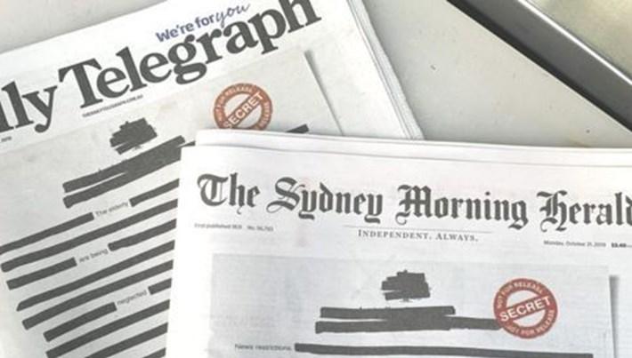 Avustralya'da basın özgürlüğü kısıtlamalarına tepki