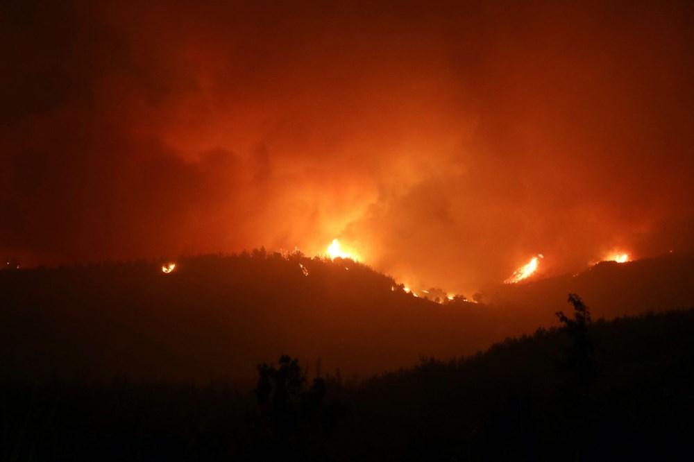 Adana'da orman yangını: 8 köy boşaltıldı - 11