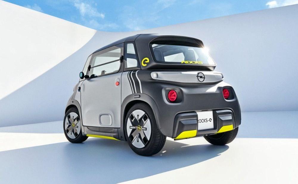 Opel'den elektrikli şehir aracı: Rocks-e - 6