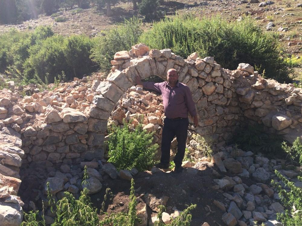 Tarihi Nodar Han ve hana ait kemerli kuyu define avcıları tarafından talan edildi - 12