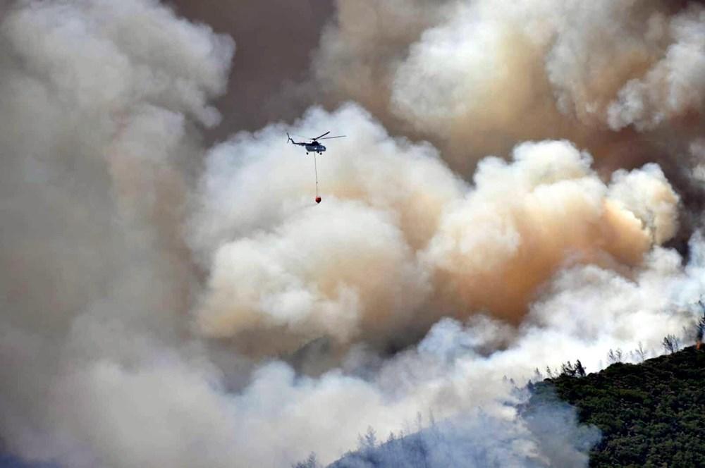 Marmaris'teki orman yangınından acı haber - 7