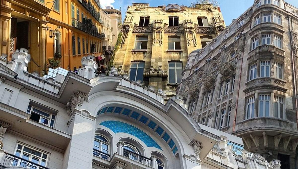 İstanbul'un tarihi 10 apartmanı ve hikayeleri