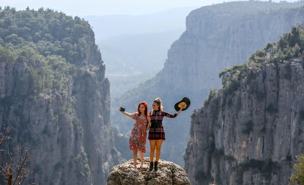 Türkiye'nin cennet köşesi turist akınına uğruyor! İskandinav ülkelerinin fiyortlarından farksız... - 2
