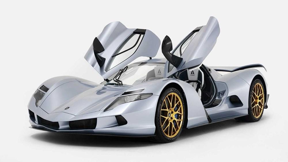 Dünyanın en pahalı elektrikli otomobili ilk teslimata hazır - 14