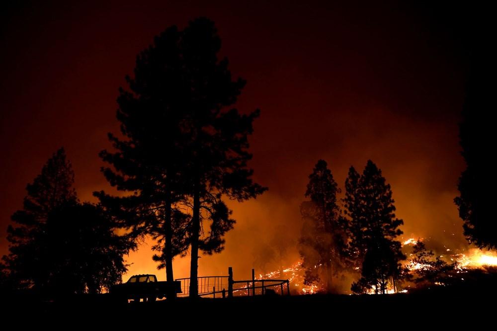 ABD'de yangınlar beş kasabayı yok etti (Gökyüzü turuncu renge boyandı) - 2