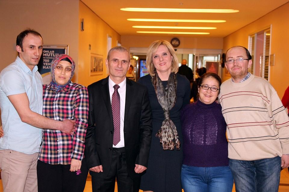 Recep, Arzu Aygün, Prof. İbrahim Berber, Prof. Ülkem Çakır, Pınar, Halil Yalnız