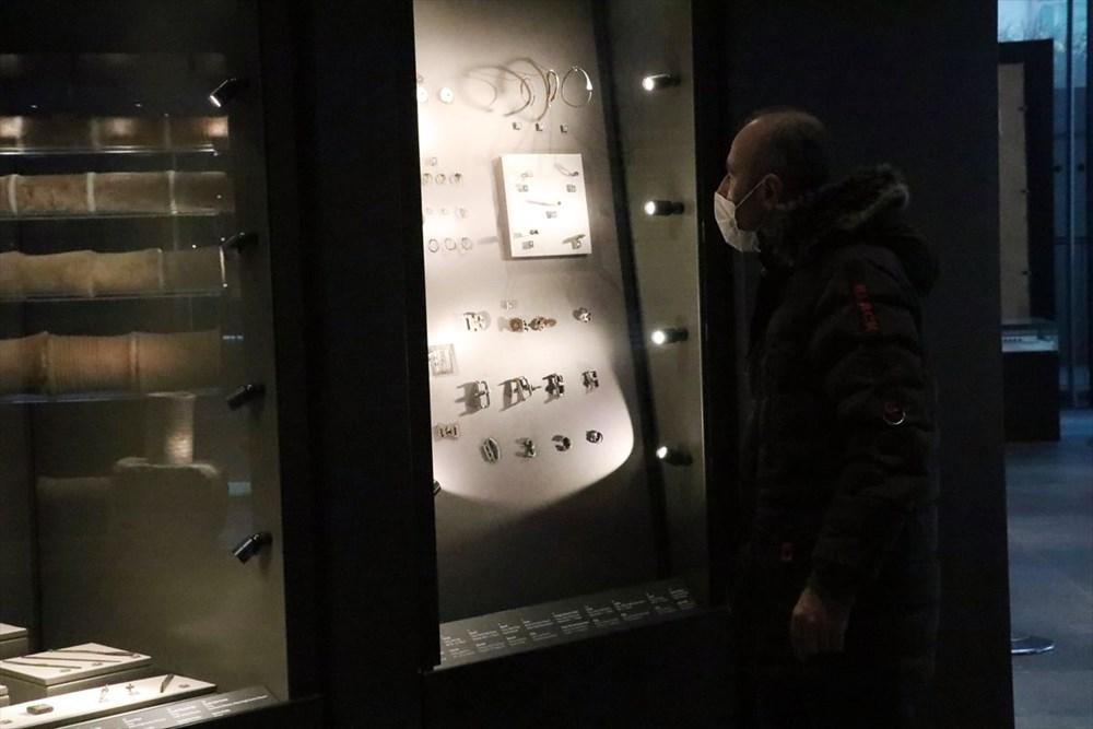 Hatay'da beş dönemin izlerini taşıyan Necmi Asfuroğlu Arkeoloji Müzesi ziyaretçilerini zaman yolculuğuna çıkarıyor - 19