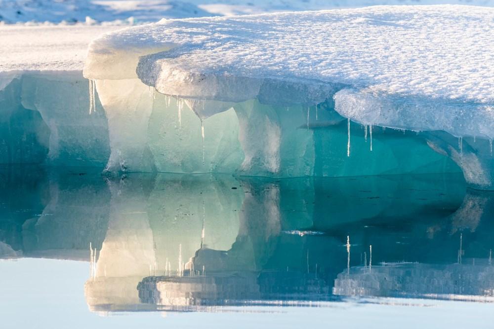Kuzey Kutbu alarm veriyor: Arktik Buz Denizi zamanı gelmesine rağmen hala donmadı - 5
