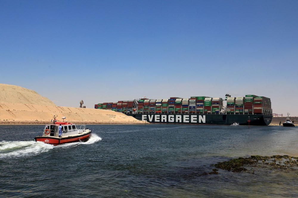 """blocking the Suez Canal """"The Ever Given"""" Headed to the Netherlands - 7"""