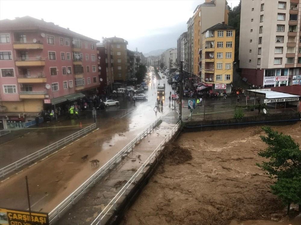 Şiddetli yağış Rize'yi de vurdu: 2 can kaybı - 3