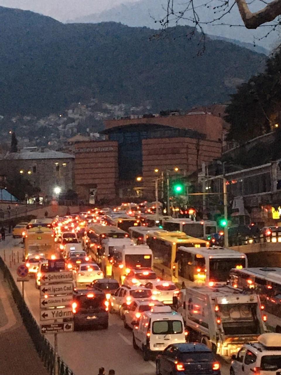 Bursa'da dün akşam