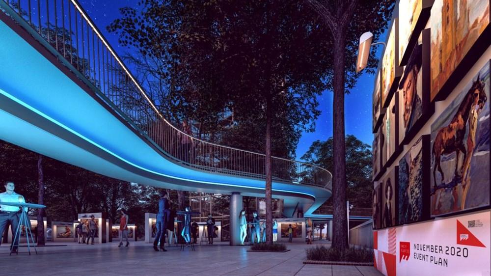 Taksim Meydanı Tasarım Yarışması sonuçlandı (Taksim Meydanı böyle olacak) - 14